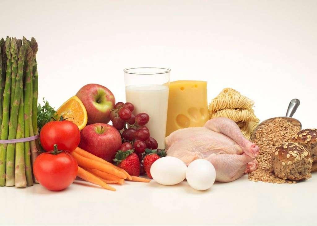 правильное питание меню для набора мышечной массы