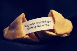 Останови прокрастинацию - начни завтра